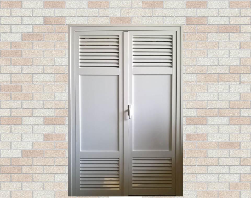 Armario exterior de aluminio a medida aluart ventanas s l l for Puertas ventanas de aluminio medidas