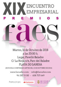 Aluart Ventanas - Premios FAES 2018
